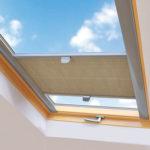 Πλισέ οροφής διπλής κατεύθυνσης σε μπεζ απόχρωση