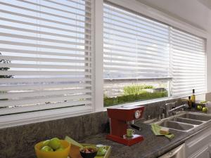 Περσίδες αλουμινίου σε κουζίνα