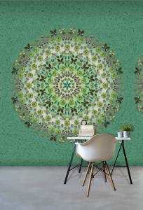 016-Di2025   ,  WANNA HAVES , 171,00 EURO , 2,00X3,00  ,  BotanicMandala 3D