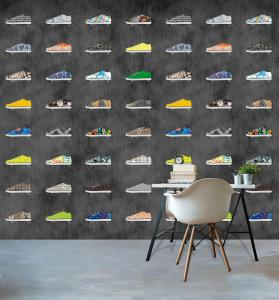 028-Di2035   ,  WANNA HAVES , 171,00 EURO , 2,00X3,00  ,  sneakers-3D