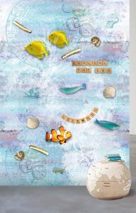 038-Di2005   ,  WANNA HAVES , 171,00 EURO , 2,00X3,00  ,  Explore the sea 3D