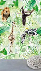 042-Di2001  ,  WANNA HAVES , 171,00 EURO , 2,00X3,00  ,   Jungle life 3D 2