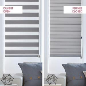 Double roller shade open close (1)